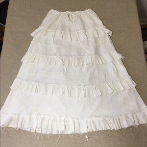 Matty M farmhouse style skirt. 100% cotton